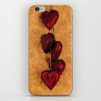 Hearts iPhone & iPod Skin by Studio VII