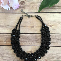 Life of Leisure Necklace-Black