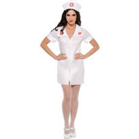Adult Hospital Honey Nurse Costume- Party City