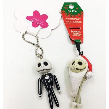 6cm The Nightmare Before Christmas Jack Christman ver action figure collectible model toys for boys