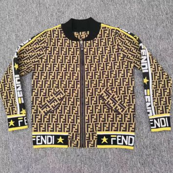 Fendi Women Zip Up Jacket