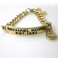 Stylish Great Deal Hot Sale Gift Awesome New Arrival Shiny Fashion Accessory Alphabet Ladies Gold Ring Bracelet [4956889412]