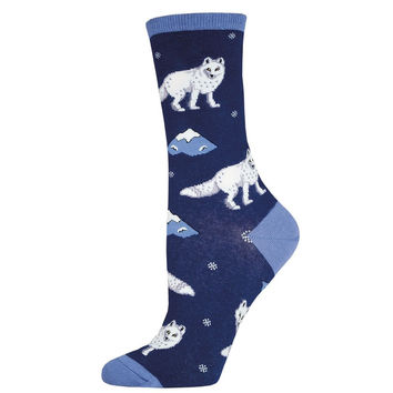 Arctic Fox Socks (Dark Blue)