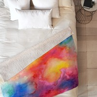 Jacqueline Maldonado Acquiesce 1 Fleece Throw Blanket