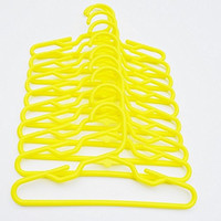 10 PASTEL YELLOW HANGERS FOR 18 INCH AMERICAN GIRL DOLLS