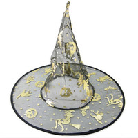 Halloween Witch Hat Festival Costume Accessory Costume Masquerade Party Props Free Shipping Cosplay Carnival Fantasia 2016 toy