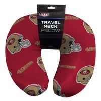 San Francisco 49ers NFL Beadded Spandex Neck Pillow (12in x 13in x 5in)