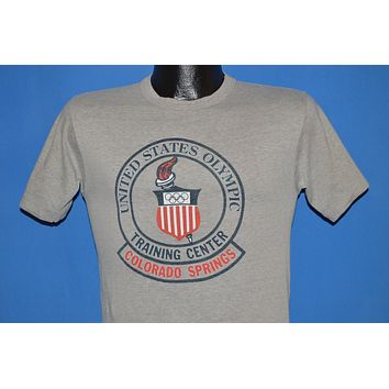 80s United States Olympic Training Center t-shirt Small