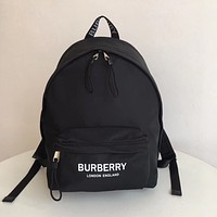 BURBERRY CANVAS BACKPACK BAG