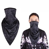 Hiking Scarf for Women Mens Outdoor Riding Triangle Masks Face Guard Fishing Mask Cycling Windproof Scarf Sunscreen Face Masks