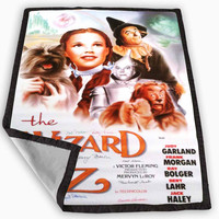 Wizard of Oz Movie Poster Blanket for Kids Blanket, Fleece Blanket Cute and Awesome Blanket for your bedding, Blanket fleece *