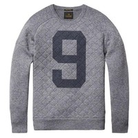Grey Pullover Sweater by Scotch & Soda