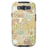 Animal's Tea Party Galaxy SIII Cases from Zazzle.com