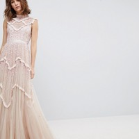 Needle & Thread Daisy Shimmer Gown at asos.com