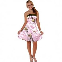 Realtree ® Short Camo Homecoming Dresses | Made in USA - Free Shipping