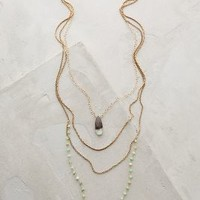 Isequilla Layered Necklace by Anthropologie Mint One Size Necklaces