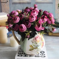 Artificial Silk Flower, Ideal for Wedding Decoration, Home Party Decor and More!
