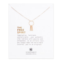 """DOGEARED """"THE FREE SPIRIT"""" NECKLACE"""