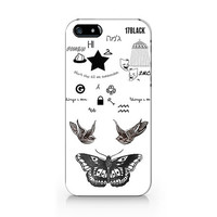 N-556- Harry styles Tattoos design for iPhone 4/5/5C/6 case, Samsung galaxy S4/S5/Note3 case