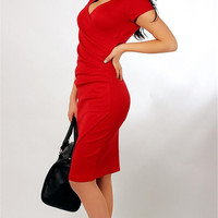 Women Girls Fashion Summer Clothing Sexy Slinky Bodycon Dress OL Long Work Dress Solid color Celebrity Style Dress for Girls
