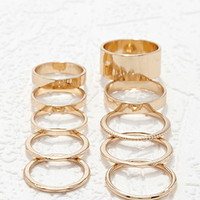 Mixed Midi Ring Set