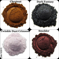 Mineral Eye Shadow Quad Palette of the Week 10/28/15