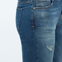 PATCHED JEANS New