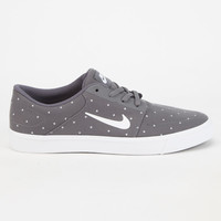 Nike Sb Portmore Canvas Premium Mens Shoes Grey Combo  In Sizes