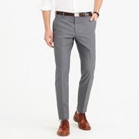 Ludlow suit pant in Italian cotton oxford cloth