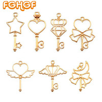 7 pcs mix style Resin Craft Supplies Open Bezel Pendant Key Lovely Magic Stick Shape DIY UV Resin Jewelry Accessory Tool-in DIY Craft Supplies from Home & Garden on Aliexpress.com | Alibaba Group