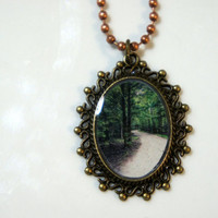 Through The Florida Woods Pendant