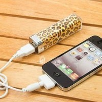Leopard Mobile Power Battery Charger for iPhone