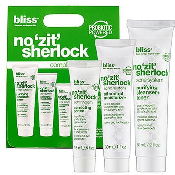 Bliss No 'Zit' Sherlock Complete Acne System   (No 'Zit' Sherlock Complete Acne System)