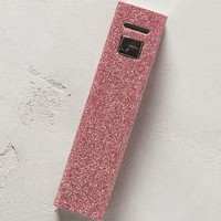 Metallic Powerbank iPhone Charger by Anthropologie Pink One Size Jewelry