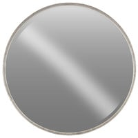 Shop Houzz | Urban Trends Collection Metal MirrorTarnished Finish, Silver - Home Decor