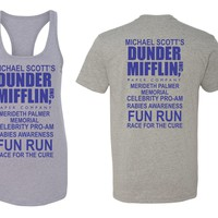 Dunder Mifflin Michael Scott Rabies Awareness Fun Run The Office Funny   First 5k