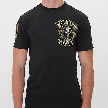 Affliction Operator Speed Green Beret T-Shirt
