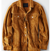 AE Corduroy Trucker Jacket, Yellow