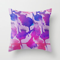 MAGIC IS COMING Throw Pillow by Lauren Lee Designs