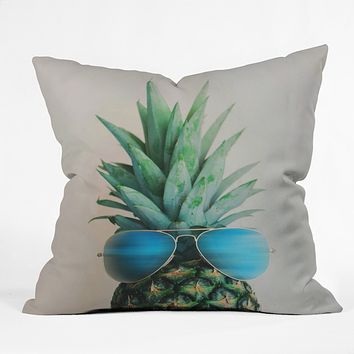 Chelsea Victoria Pineapple In Paradise Outdoor Throw Pillow