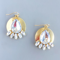 Gold Hera Earrings
