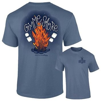 Southernology Gimme Smore Firepit Fall Comfort Colors T-Shirt