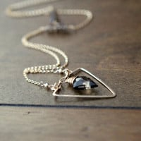 Spearhead Necklace - As displayed at the 2014 GBK Primetime Emmys Luxury Lounge