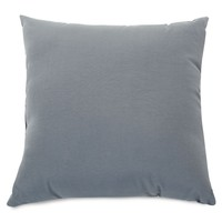 Gray Solid Large Pillow