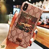 GUCCI New fashion people more letter print couple protective cover phone case 1#
