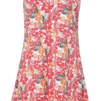 """Sport Haley Ladies Flora 36"""" Sleeveless Print Golf Dress - OUTSIDE THE LINES (Hibiscus)"""