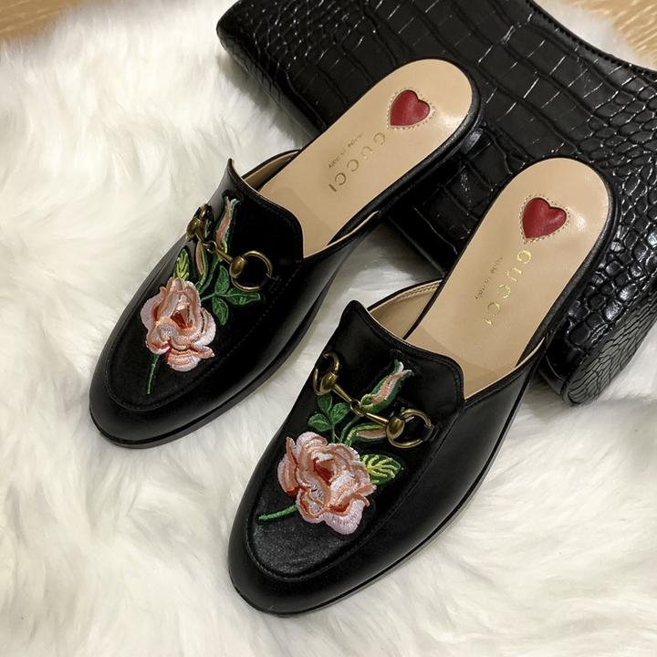 Image of GG Women's Half Slippers Shoes