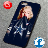 Marilyn Monroe Dallas Cowboys for iphone, ipod, samsung galaxy, HTC and Nexus phone case