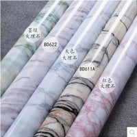 Marble renovation waterproof adhesive stickers PVC wallpaper wallpaper wall stick ambry mesa table furniture-335