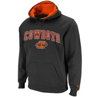 Oklahoma State Cowboys Charcoal Automatic Pullover Hoodie Sweatshirt